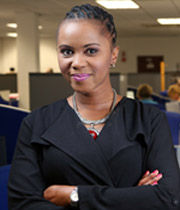 Sithembile Bhengu<br>Executive Manager HR<br>and Transformation